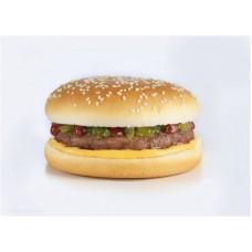 Булочка для гамбургера с кунжутом 100 мм. 52 гр.(48 шт)