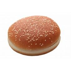 Булочка для гамбургера с кунжутом 125 мм. 85 гр. (24шт)